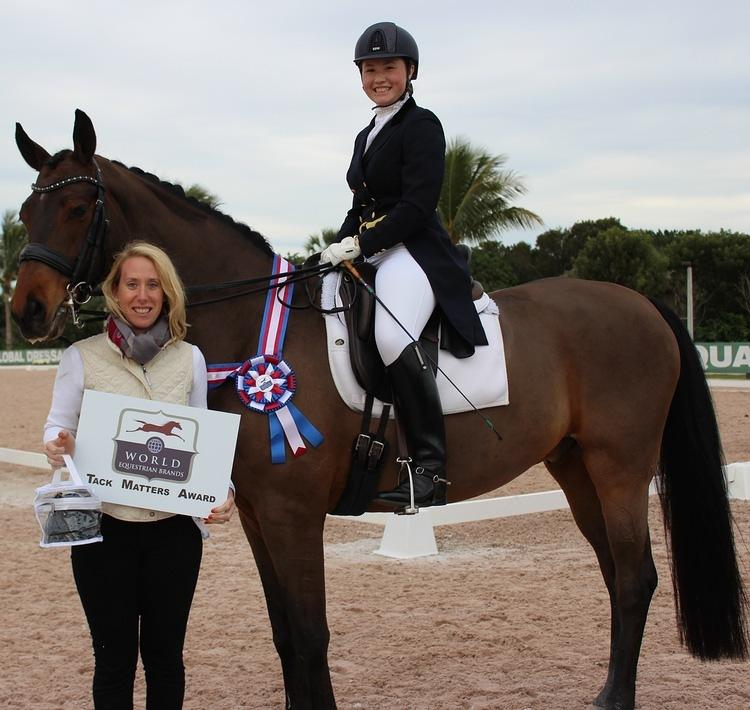 Canadian Young Rider Yanina Woywitka Wins World Equestrian Brands Tack Matters Award for Pristine Appearance