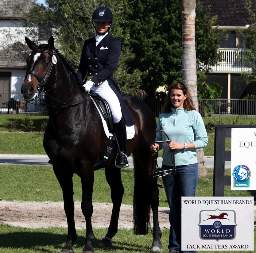 World Equestrian Brands Returns to Sponsor 2016 Adequan Global Dressage Festival with Tack Matters Award