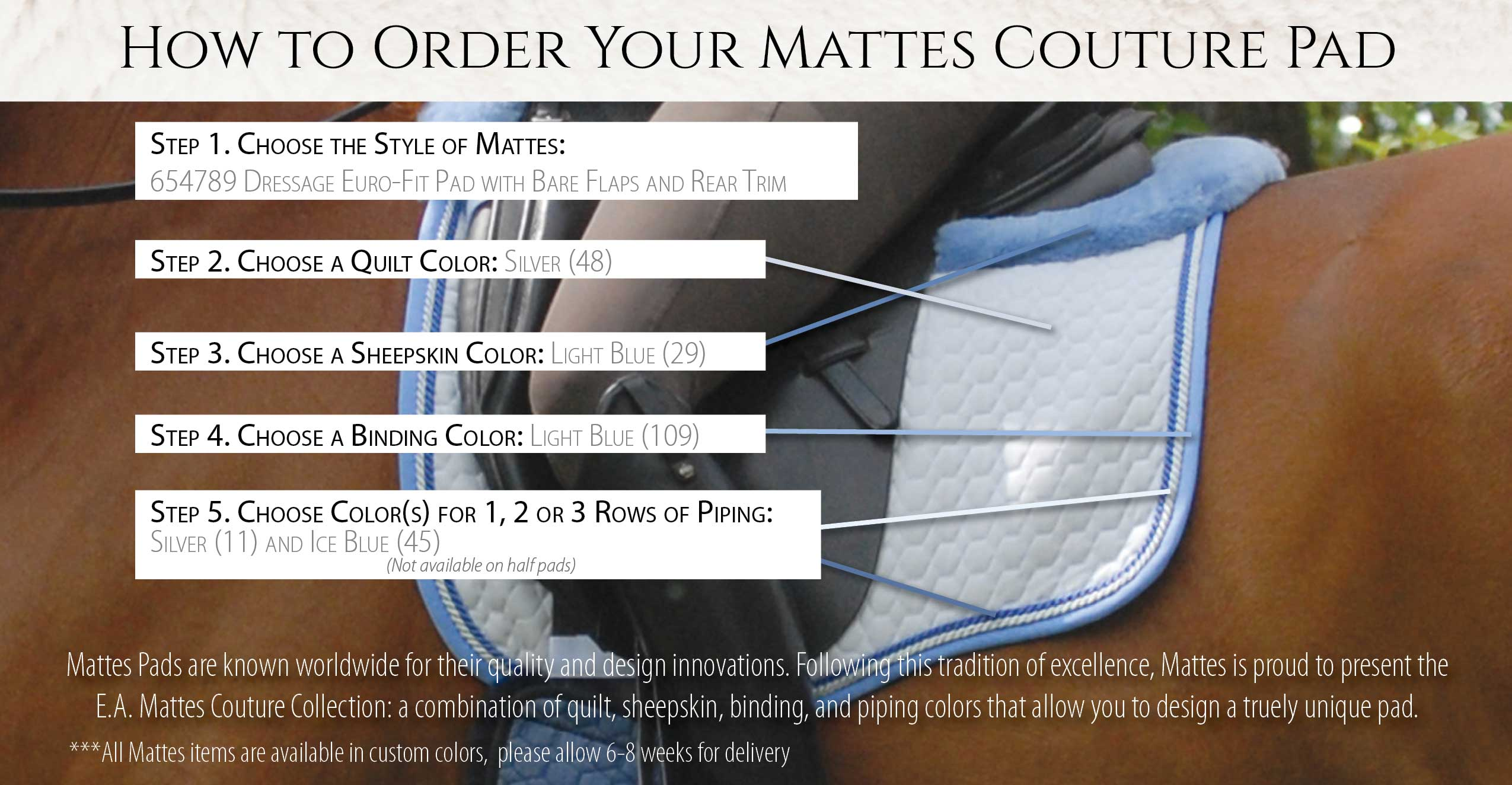 how-to-order-your-mattes-couture-pad